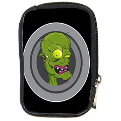 Zombie Pictured Illustration Compact Camera Cases