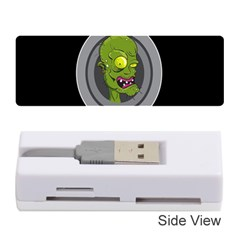 Zombie Pictured Illustration Memory Card Reader (stick)