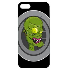 Zombie Pictured Illustration Apple Iphone 5 Hardshell Case With Stand