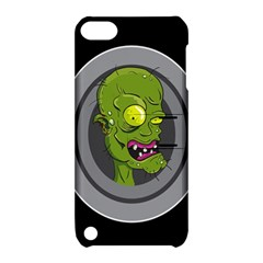 Zombie Pictured Illustration Apple Ipod Touch 5 Hardshell Case With Stand