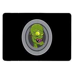 Zombie Pictured Illustration Samsung Galaxy Tab 8 9  P7300 Flip Case