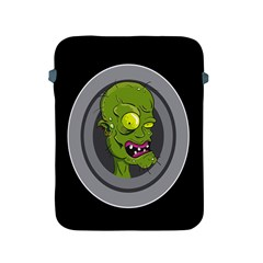 Zombie Pictured Illustration Apple Ipad 2/3/4 Protective Soft Cases
