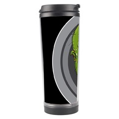 Zombie Pictured Illustration Travel Tumbler