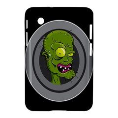 Zombie Pictured Illustration Samsung Galaxy Tab 2 (7 ) P3100 Hardshell Case