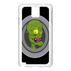 Zombie Pictured Illustration Samsung Galaxy Note 3 N9005 Case (white)