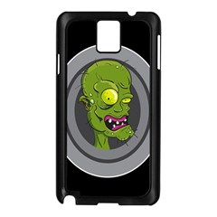 Zombie Pictured Illustration Samsung Galaxy Note 3 N9005 Case (black)