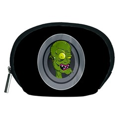 Zombie Pictured Illustration Accessory Pouches (medium)