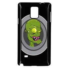 Zombie Pictured Illustration Samsung Galaxy Note 4 Case (black)