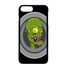 Zombie Pictured Illustration Apple Iphone 8 Plus Seamless Case (black)