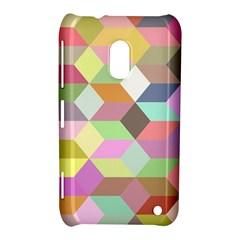 Mosaic Background Cube Pattern Nokia Lumia 620