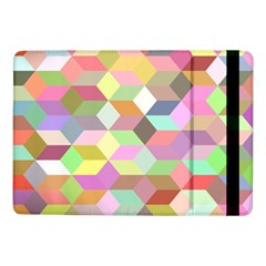 Mosaic Background Cube Pattern Samsung Galaxy Tab Pro 10 1  Flip Case