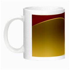 Background Festive Wave Night Luminous Mugs