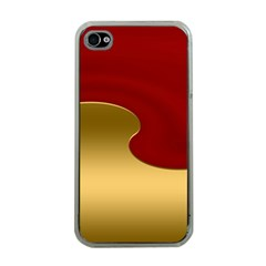 Background Festive Wave Apple Iphone 4 Case (clear)