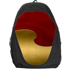 Background Festive Wave Backpack Bag