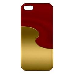 Background Festive Wave Apple Iphone 5 Premium Hardshell Case
