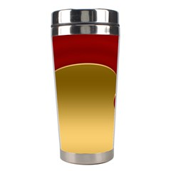 Background Festive Wave Stainless Steel Travel Tumblers