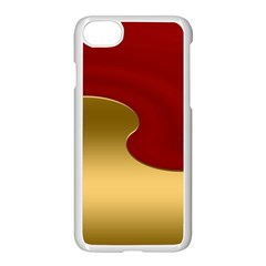Background Festive Wave Apple Iphone 8 Seamless Case (white)