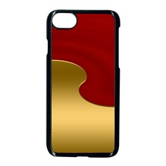 Background Festive Wave Apple Iphone 8 Seamless Case (black)