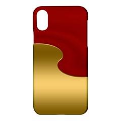 Background Festive Wave Apple Iphone X Hardshell Case