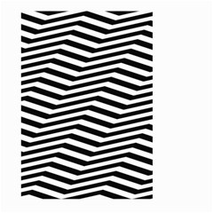 Zig Zag Zigzag Chevron Pattern Large Garden Flag (two Sides)