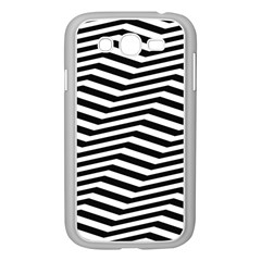 Zig Zag Zigzag Chevron Pattern Samsung Galaxy Grand Duos I9082 Case (white)