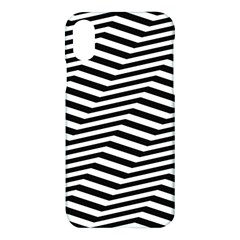 Zig Zag Zigzag Chevron Pattern Apple Iphone X Hardshell Case