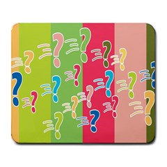 Question Mark Problems Clouds Large Mousepads