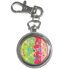Question Mark Problems Clouds Key Chain Watches