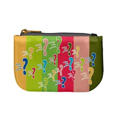 Question Mark Problems Clouds Mini Coin Purses