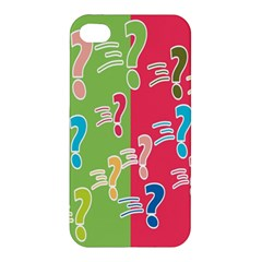 Question Mark Problems Clouds Apple Iphone 4/4s Hardshell Case