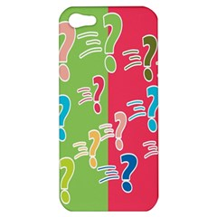 Question Mark Problems Clouds Apple Iphone 5 Hardshell Case
