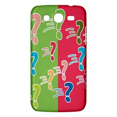 Question Mark Problems Clouds Samsung Galaxy Mega 5 8 I9152 Hardshell Case