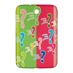 Question Mark Problems Clouds Samsung Galaxy Note 8 0 N5100 Hardshell Case