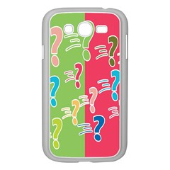 Question Mark Problems Clouds Samsung Galaxy Grand Duos I9082 Case (white)