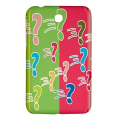 Question Mark Problems Clouds Samsung Galaxy Tab 3 (7 ) P3200 Hardshell Case
