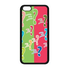 Question Mark Problems Clouds Apple Iphone 5c Seamless Case (black)