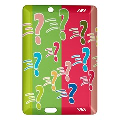 Question Mark Problems Clouds Amazon Kindle Fire Hd (2013) Hardshell Case
