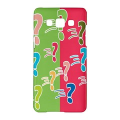 Question Mark Problems Clouds Samsung Galaxy A5 Hardshell Case
