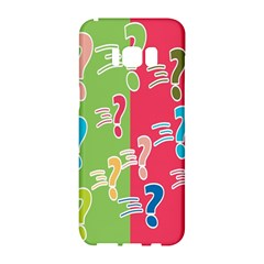 Question Mark Problems Clouds Samsung Galaxy S8 Hardshell Case
