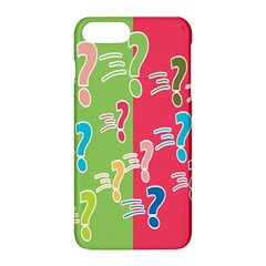 Question Mark Problems Clouds Apple Iphone 8 Plus Hardshell Case