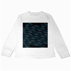 Desktop Pattern Vector Design Kids Long Sleeve T Shirts