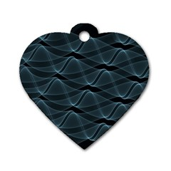 Desktop Pattern Vector Design Dog Tag Heart (two Sides)