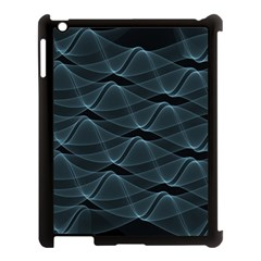 Desktop Pattern Vector Design Apple Ipad 3/4 Case (black)