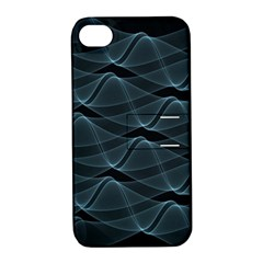 Desktop Pattern Vector Design Apple Iphone 4/4s Hardshell Case With Stand