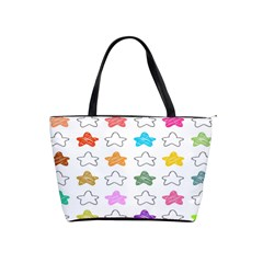 Stars Set Up Element Disjunct Image Shoulder Handbags