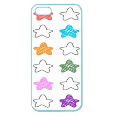 Stars Set Up Element Disjunct Image Apple Seamless Iphone 5 Case (color)