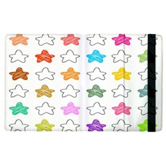 Stars Set Up Element Disjunct Image Apple Ipad 2 Flip Case
