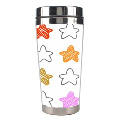 Stars Set Up Element Disjunct Image Stainless Steel Travel Tumblers
