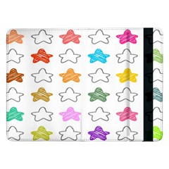 Stars Set Up Element Disjunct Image Samsung Galaxy Tab Pro 12 2  Flip Case