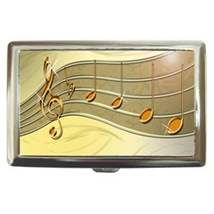 Music Staves Clef Background Image Cigarette Money Cases
